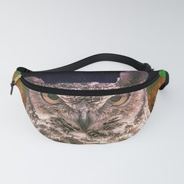 The Owlbserver In The Forest Fanny Pack