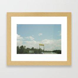 LIQUOR Framed Art Print