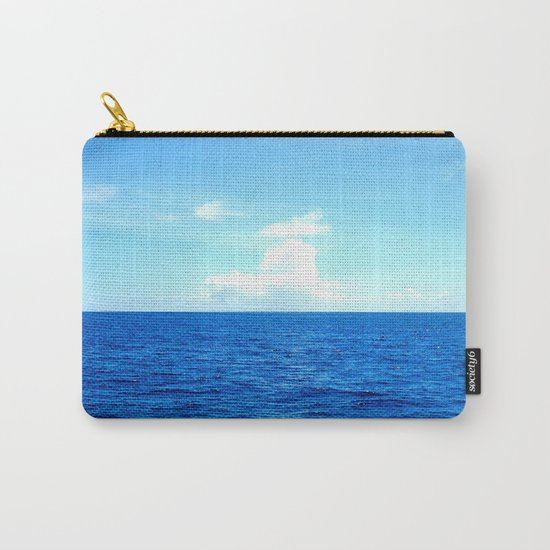 Serene Blue Water Carry-All Pouch