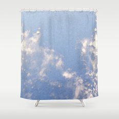 Sparkling Clouds Shower Curtain