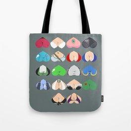 Females In Video Games Tote Bag