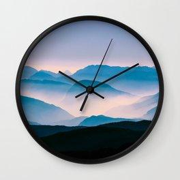 Pale Morning Light Wall Clock
