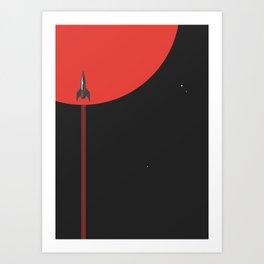 to new horizons Art Print