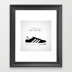 URBAN SHOES // 05 Framed Art Print