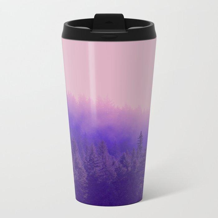 Rose Quartz Fog Travel Mug