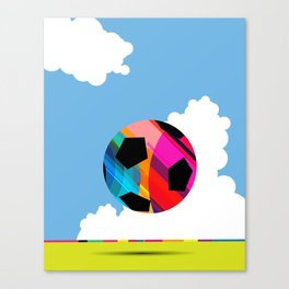 World Cup Soccer Canvas Print