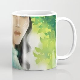 Forest Elf Girl Coffee Mug