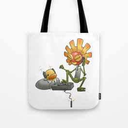 We Are Listening Tote Bag