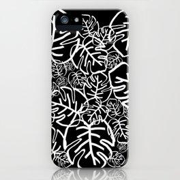 Black Palms iPhone Case