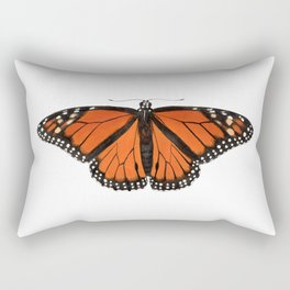 Monarch (Danaus plexippus) Rectangular Pillow