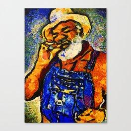 Grandpa Elliott Sugar Sweet Canvas Print