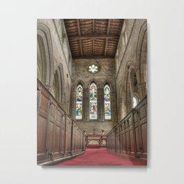 Breedon church interior Metal Print