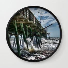 Bogue Inlet Pier Wall Clock