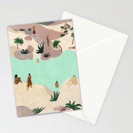 River in the Desert Stationery Cards