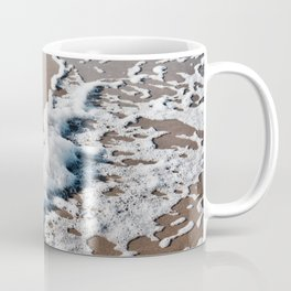Foam on the beach on the Sunshine Coast Coffee Mug