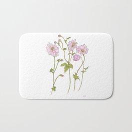 Pink Anemone Bath Mat