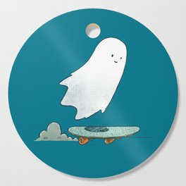 The Ghost Skater Cutting Board