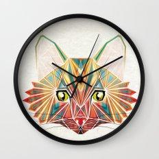 savage cat Wall Clock