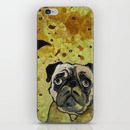 edgar allen pug iPhone Skin