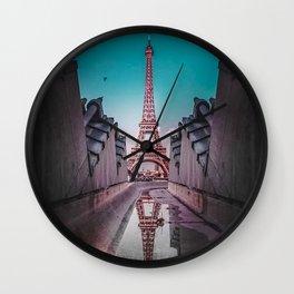 An Eye Full of the Eiffel Wall Clock