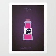 Yzma | Villains do It Better Art Print