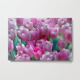Pink tulips II Metal Print