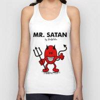 satan Tank Tops featuring Mr Satan by NicoWriter