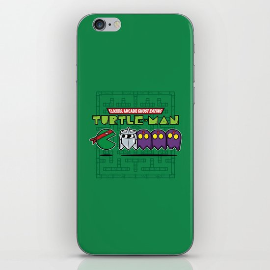 Hero in a Pac-Shell (Raph) iPhone Skin