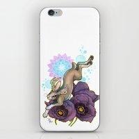 jackalope iPhone & iPod Skins featuring Jackalope by Kiri Moth