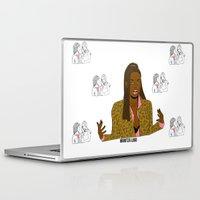 clueless Laptop & iPad Skins featuring ILIKETHEMBIG by Maritza Lugo
