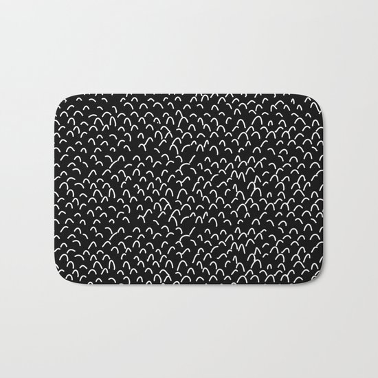 Lost In The Crowd Bath Mat