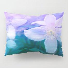 Romantic Garden with Flowers Pillow Sham