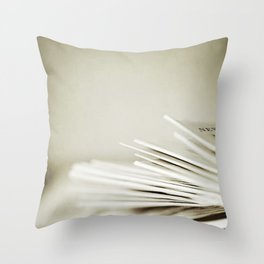 Yesterday's News Throw Pillow