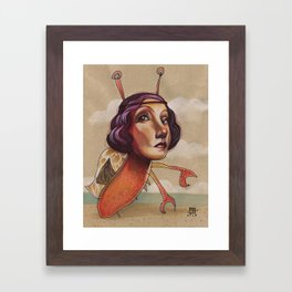 CRABBY Framed Art Print