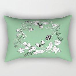 Forest Wreath Rectangular Pillow