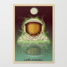 Visit Lake Silencio! Canvas Print