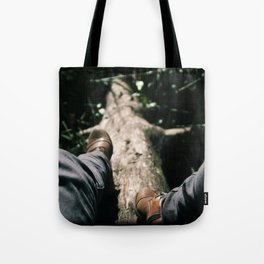 Over Troubled Waters Tote Bag