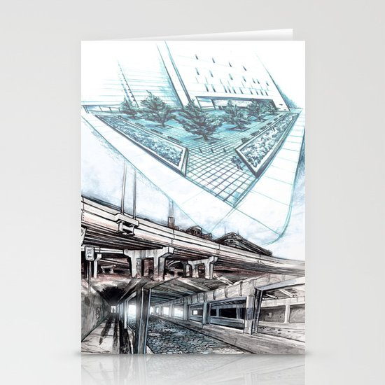 Urban passages: Chicago  Stationery Cards