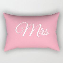 Mrs (Pink) Rectangular Pillow