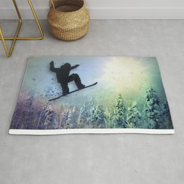The Snowboarder: Air Rug