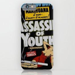 Anti-hemp old poster iPhone Case