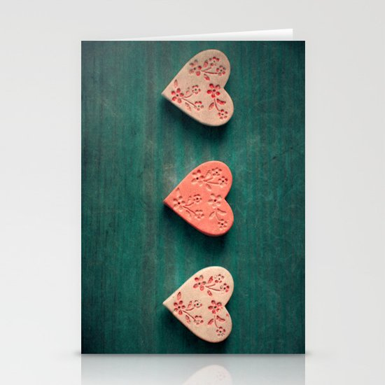 My Heart goes boom.. Stationery Cards