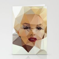 capricorn Stationery Cards featuring Monroe. by David