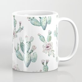 Cactus Pretty Pink + Green Coffee Mug