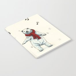 The polar bears wish you a Merry Christmas Notebook
