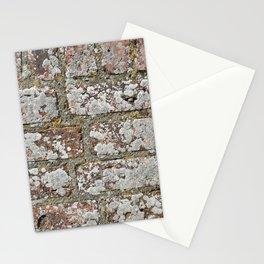 old wall bricks Stationery Cards
