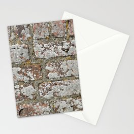 old wall bricks Stationery Cards