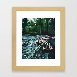 Tubing Framed Art Prints | Society6