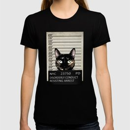 Kitty Mugshot T-shirt