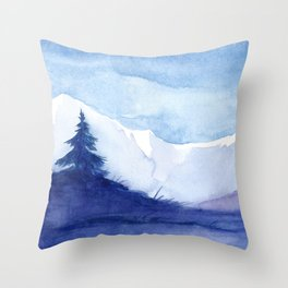 Winter scenery #12 Throw Pillow